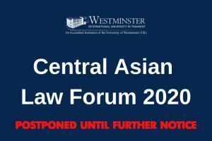 Central Asian Law Forum 2020